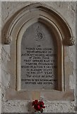 TQ5203 : Alfriston: St. Andrew's Church: The Anthony Merritt memorial in the north transept by Michael Garlick