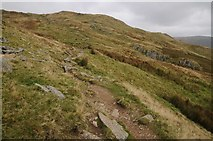 NY3507 : Path on Lord Crag by Philip Halling