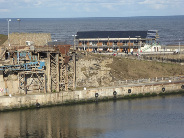 Loading bay in South Dock, Seaham Harbour