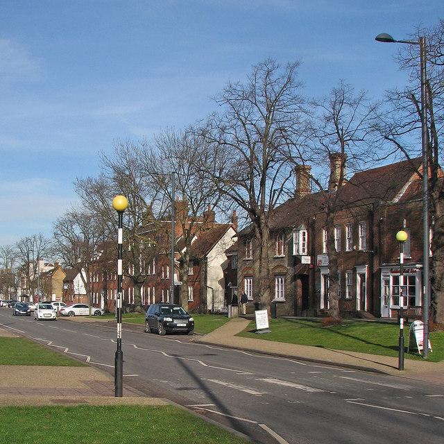Baldock: the east side of High Street