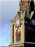 SO9098 : St Mark's Church spire (detail) in Wolverhampton by Roger  Kidd