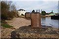 TA0325 : Mooring Bollard at Hessle Haven by Ian S