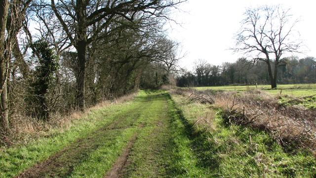 Bridleway to Heath Road