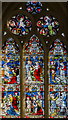 TF1089 : East window, St Thomas' church, Market Rasen by Julian P Guffogg
