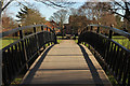 SK7081 : Kings' Park footbridge by Richard Croft