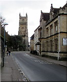 SP0202 : Gosditch Street towards Cirencester town centre by Jaggery