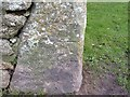 SW3633 : Benchmark on The Count House, Botallack by Becky Williamson