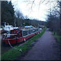 SE2336 : Leeds Liverpool Canal, Newlay, Boxing Day 2016 by Rich Tea