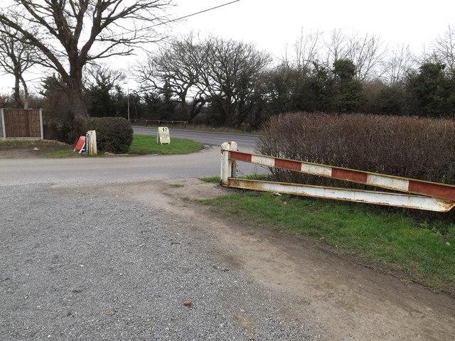 Lubards Farm Industrial Estate entrance