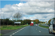 SE4496 : A19 heading north by Robin Webster