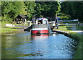 SJ5778 : Dutton Stop Lock No 76 on the Trent & Mersey Canal by Mat Fascione