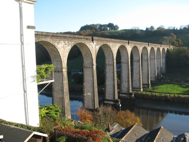 The Railway Viaduct at Calstock