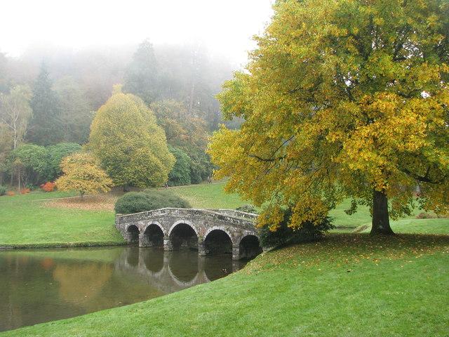 Autumn at Stourhead Gardens