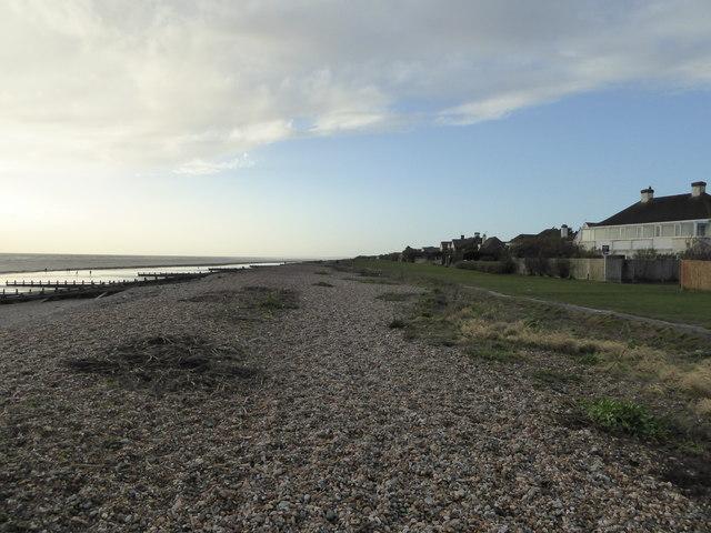 Beach by Kingston Gorse