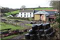 ST1896 : Rear of Glan-brynar Farm, Tir Philkins by M J Roscoe