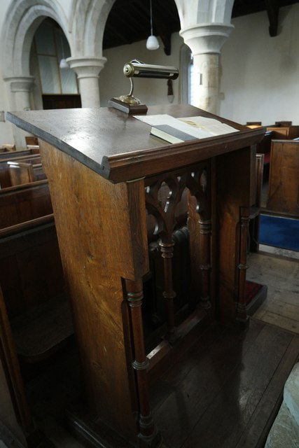 St Mary's Church: Lectern