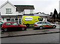 ST3090 : Taxi and Riverford van, Malpas Road, Newport by Jaggery