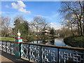 TQ3583 : Victoria Park Pagoda by Des Blenkinsopp
