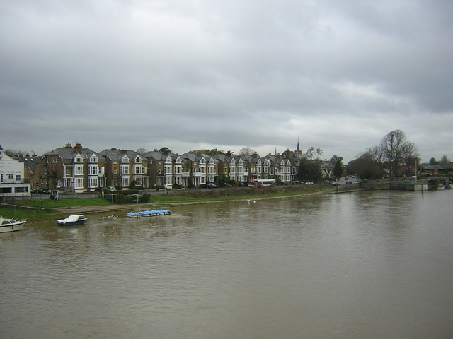 Riverbank, from Hampton Court Bridge