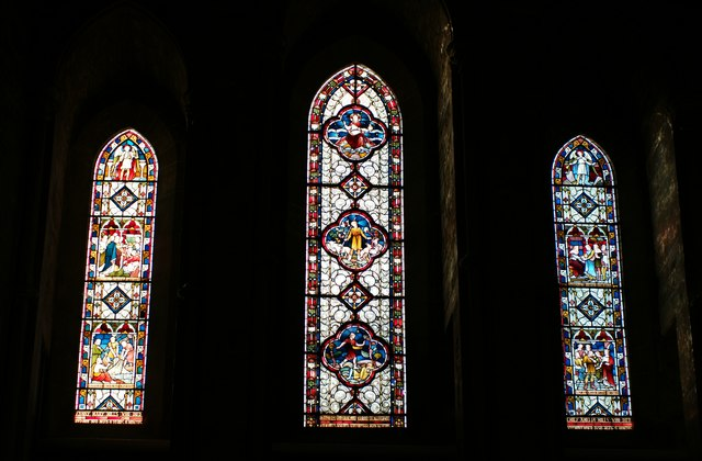 The Abbey Church of Saints Peter and Paul: West Window