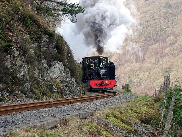 Vale of Rheidol Railway locomotive No.8