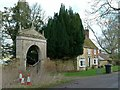 SK8808 : Gateway to Burley on the Hill House and Fishpond Cottage by Alan Murray-Rust