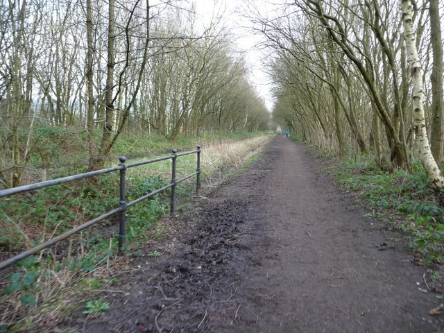 The start of the Longdendale Trail