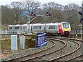 NS4238 : Virgin train approaching Kilmarnock by Thomas Nugent