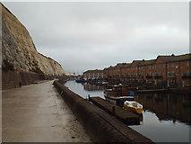 TQ3303 : Undercliff Walk at Brighton Marina by Malc McDonald