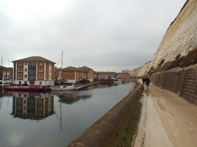 Undercliff Walk at Brighton Marina