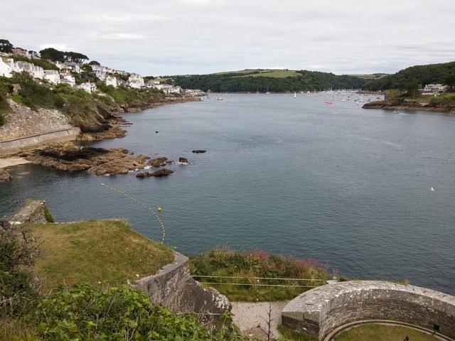 View from St.Catherine's Castle, Fowey