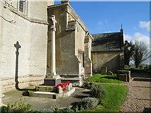 TF5617 : Tilney All Saints War Memorial by Adrian S Pye