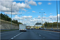 SE4625 : A1(M) northbound by Robin Webster