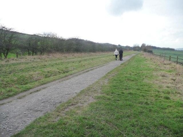 A winter walk on the Longdendale Trail