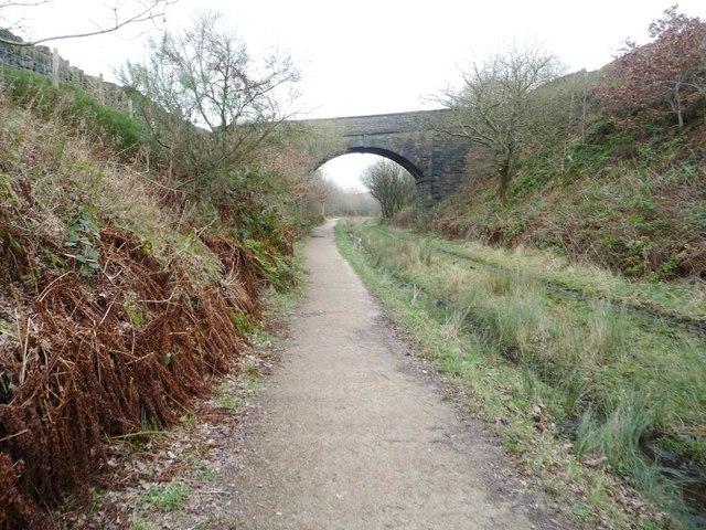 Road bridge over the Longdendale Trail