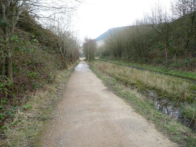 The Longdendale Trail, heading east