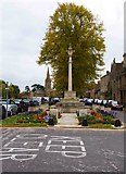 SP3509 : War Memorial (1), Church Green, Witney, Oxon by P L Chadwick