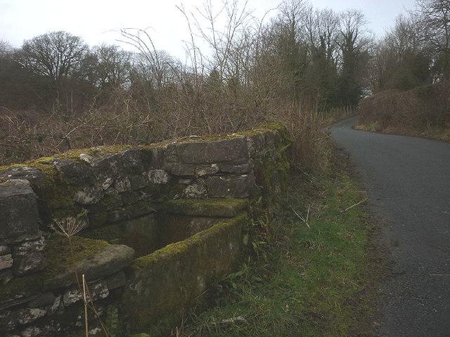 Water trough, Waterslack Road