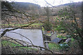 SJ0419 : The dam of the Marchant reservoir by Bill Boaden
