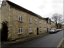 SP0202 : Thomas Street houses, Cirencester by Jaggery
