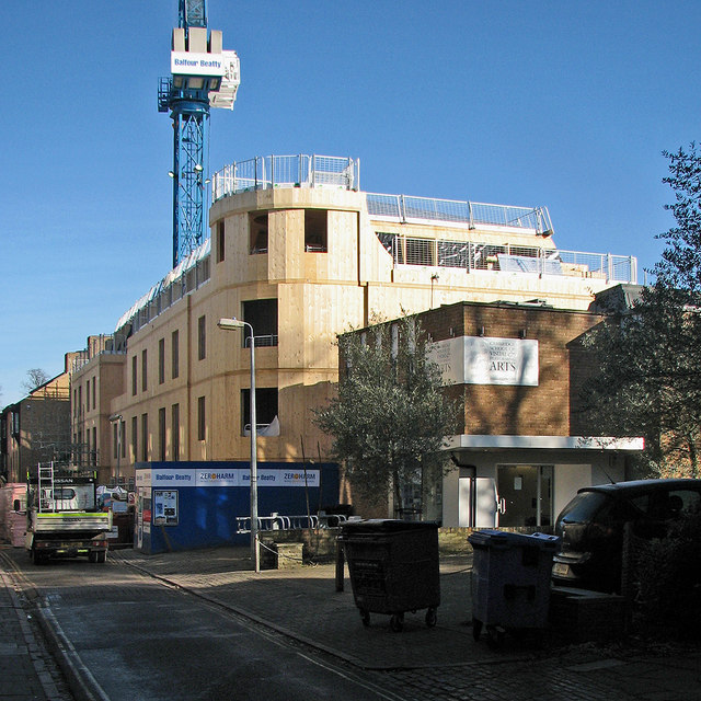 Thompsons Lane: new buildings for Trinity Hall