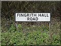 TL6002 : Fingrith Hall Road sign by Adrian Cable