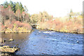 NX6087 : Confluence of the Water of Deugh and Water of Ken by Billy McCrorie