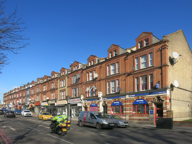 Shop Terrace, Upper Clapton Road