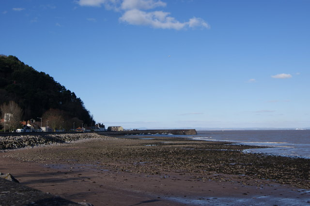 Minehead Harbour from the promenade