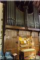 SK8261 : Organ, St John the Baptist church, Collingham by Julian P Guffogg