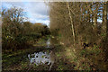 ST5484 : Flooded Bridleway beside Govier Way by Chris Heaton