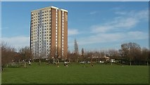 SE3133 : Open space off Torre Road, Burmantofts by Stephen Craven
