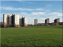 SE3133 : Block of flats in Burmantofts by Stephen Craven