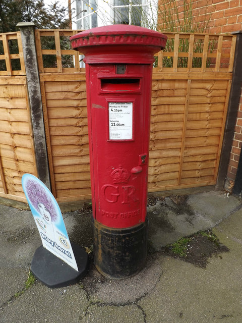 Blackmore Post Office George V Postbox
